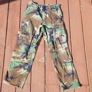 Army pants came military issue genuine men's